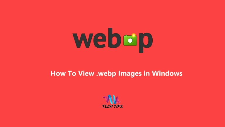 How To View .webp Images in Windows