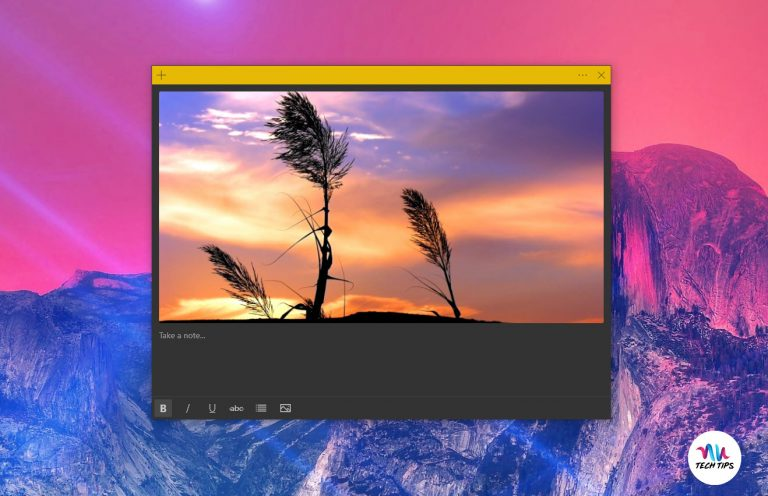 Sticky Notes v3.6 is Out With Images and Multi-Desktop Support
