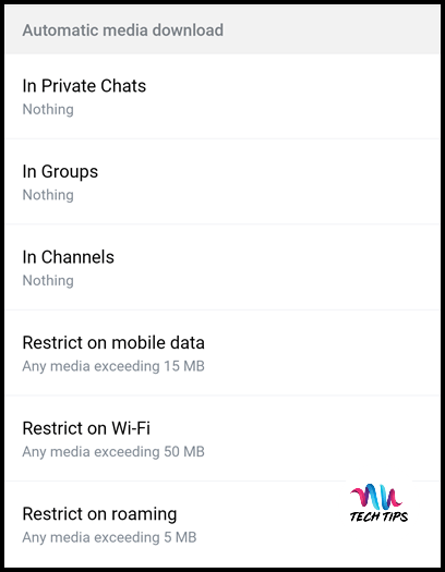 How To Save Mobile Data Usage in Telegram (Android & iOS