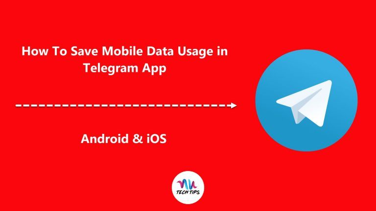 How To Save Mobile Data Usage in Telegram (Android & iOS)