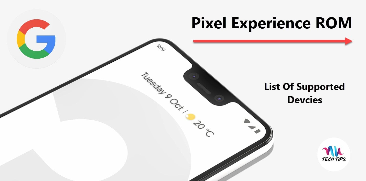 Pixel Experience ROM - List of Supported Devices | AUTechTips
