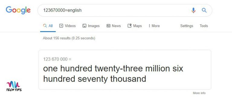 How To Pronounce Massive Numbers With Google Search