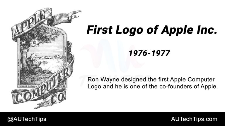 First Logo of Apple Inc.