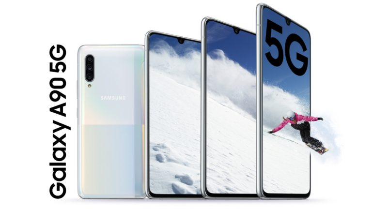 Samsung Galaxy A90 5G Announced With DeX and Your Phone Support