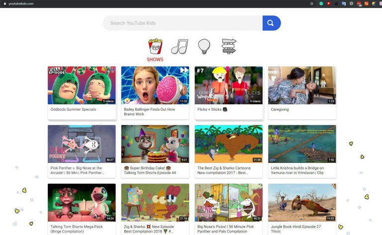 YouTube Kids Now Available On The Desktop