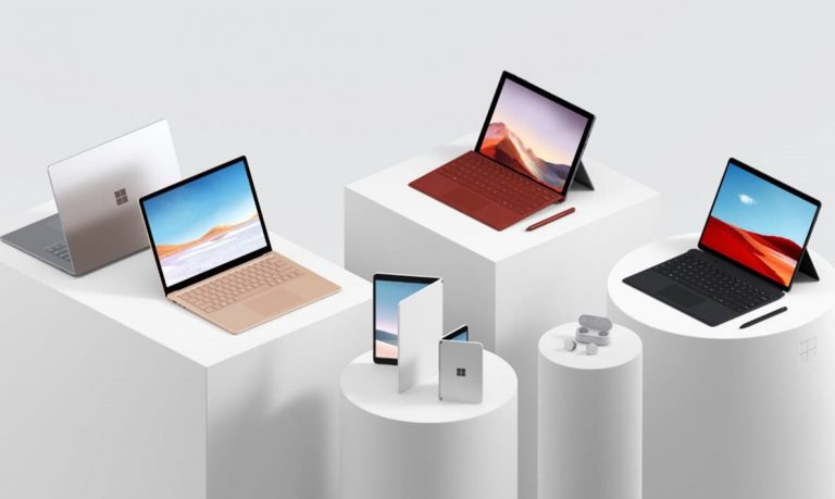 Microsoft Surface Line Up and Microsoft Future Foldable Devices Announced