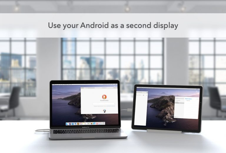 Duet Display Now Available For Android Phones and Tablets – Use as a Secondary Display
